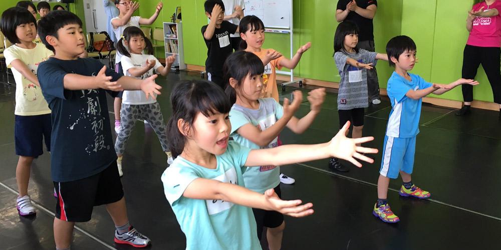 授業風景 ダンス
