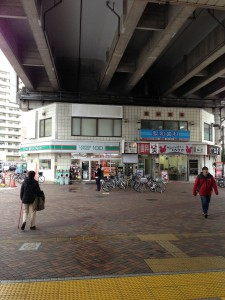 駅からの道順1