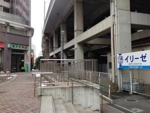 駅からの道順3